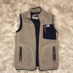 Penfield brand shearling vest